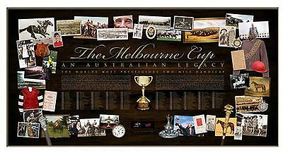The History Of The Melbourne Cup Limited Edition Print