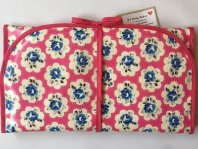 Cath Kidston Handmade 'Provence Rose Pink' Oilcloth Baby Changing Mat
