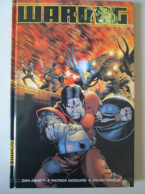 Wardog 2000 AD Graphic Novel Comic Book New Hardback First Edition 2004