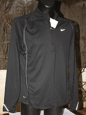NEUF @@ T SHIRT MANCHES LONGUES SWEAT RUNNING HOMME + NIKE + S/M ou  XL