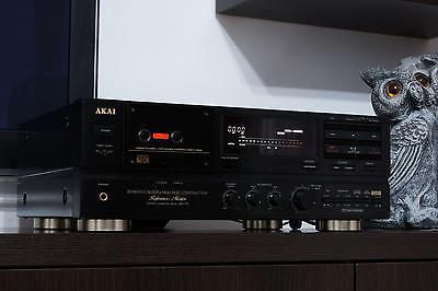 Akai Gx-75 Reference Top Model Superb Cassette Deck Player