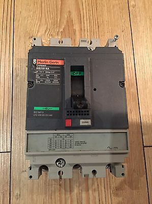 Merlin Gerin Compact  250 Amp 3 Pole Switch Disconnector  NS250NA