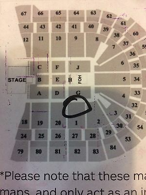 Green Day Sydney Tickets x 2 A Reserve!
