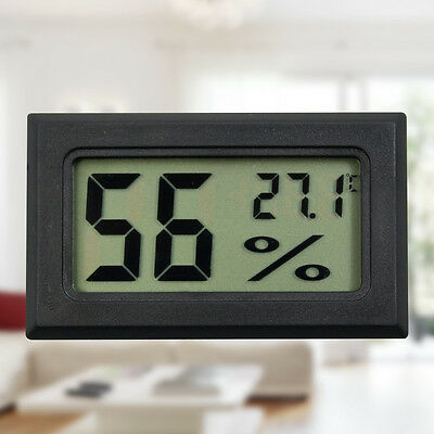 Hygrometer Digital Humidity Measuring Device Temperature Reader Hygroscope Meter