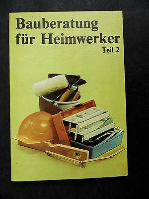 "4069 EAST GERMAN/DDR/GDR Cold War  "" Building advice for home improvement "" 1986"