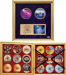 The Ultimate Queen Collector's Edition, CD Box set in gold