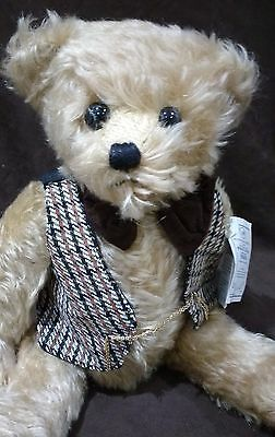 """Deans Collectors Club Frederick Mohair Teddy Bear - 16"""" - No 74 New With Tags"""