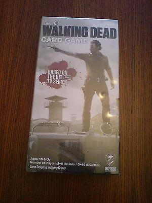 New/Sealed The Walking Dead Card Game