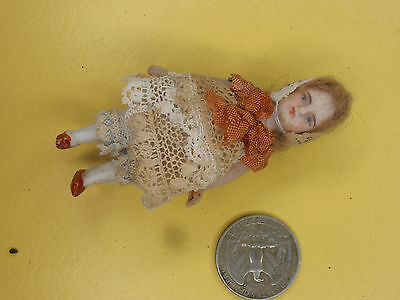 Antique Dolls Germany girl child  dollhouse  Limbach 1900-