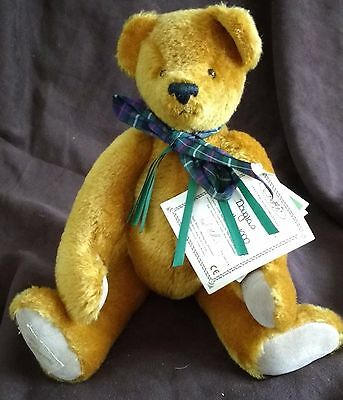 Deans Mohair Teddy Bear - Douglas -   No 11 Of 1000 - New With Tags