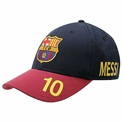 Official FC Barcelona Lionel Messi 10 Adjustable Junior Kid's Cap Football Club