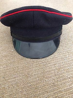 Vintage Military Hat - Small Adult