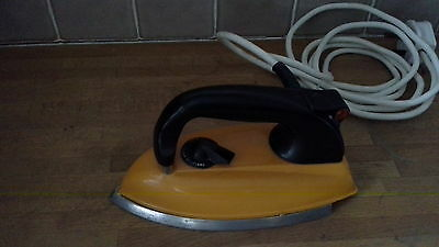 Vintage pat tested Morphy Richards Dry Iron Orange