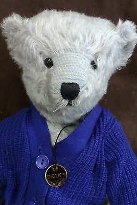 Deans Mohair Teddy Bear - Terry- No 42 Of 85 - New With Tags