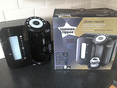 Black special edition Tommee Tippee perfect prep machine