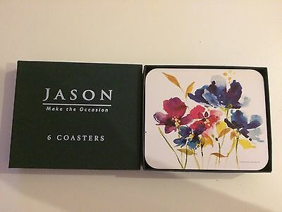 Jason Make The Occasion 6 Luxury Floral Coasters