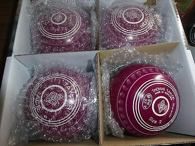 Thomas Taylor Ace Size 2 Heavy Plum Gripped Bowls
