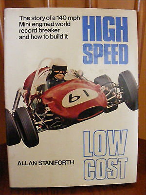 HIGH SPEED LOW COST Allan Staniforth (first edition,signed copy)