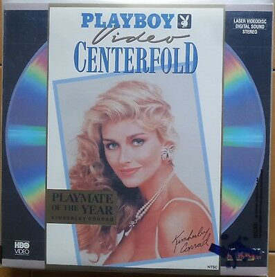 Laser disc  PLAYBOY video CENTERFOLD Playmate of the year KIMBERLY CONRAD