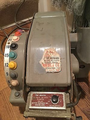 Better Pack 555 S Electric TAPE MACHINE, Dispenser, Used