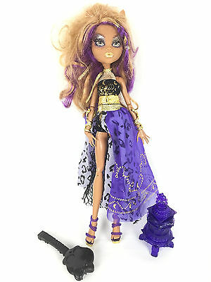Monster High Poupée Doll / Clawdeen Wolf / 13 Wishes Souhaits