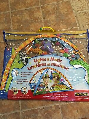 Tiny Love Gymini Super Deluxe Lights And Music Play Gym/mat
