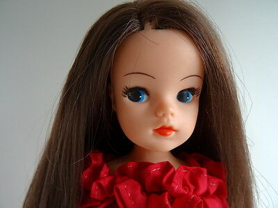 Sindy Doll Vintage Clothes Sindy Beach Party Rare Emanuel's Scarlet Lady Outfit