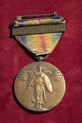 WWI Victory Medal - Atlantic Fleet clasp