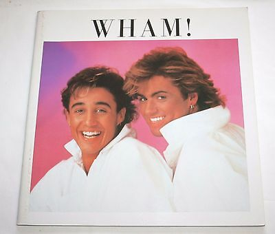 Wham! Official Japan Tour Program 1985 George Michael  Andrew Ridgeley