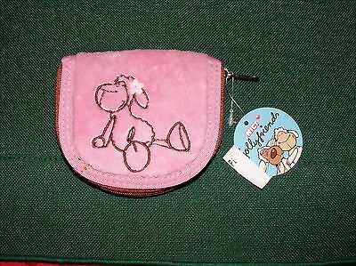 Nici Pink Sheep Plush Wallet Coin Purse NWT Retired Design