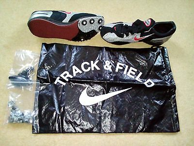 Nike Zoom Shift Track Spikes, Size 6 - BNIB - colour black and silver