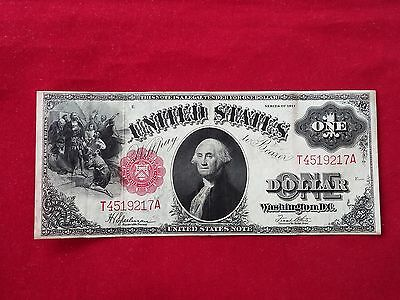 FR-39  1917 Series $1 One Dollar United States Legal Tender Note *Very Fine+*