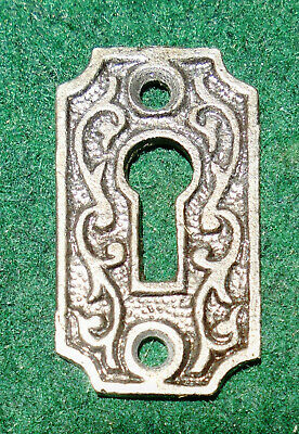 CAST STEEL EASTLAKE KEY HOLE ESCUTCHEON or SURROUND  (7294)