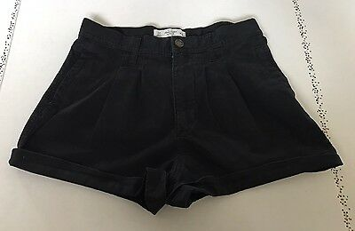 Abercrombie & Fitch Women's High Waisted Black Shorts Size 00