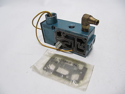 (NEW) MAC Valves 6200C Basic Pneumatic Solenoid Valvce Assembly 6200C-111