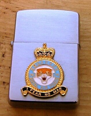 1983 Royal Air Force 74 Tiger Squadron Zippo Lighter