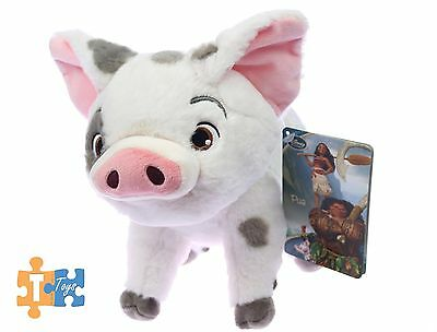 "Pua the Pig Moana 2017 Official Disney Store Soft Plush Figure ""NEW"""