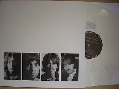 BEATLES white unplugged album LP NEW*1968 KINFAUNS*reel to reel tape*white vinyl