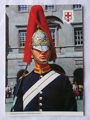DISMOUNTED SENTRY WHITEHALL LONDON [Colour Postcard]