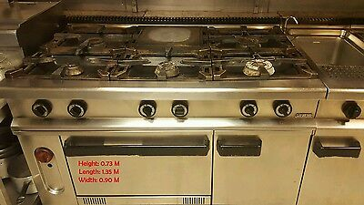 Commercial Oven 6 Head