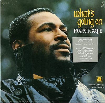"""Gaye Marvin What's Going On Vinile Ep 10"""" Nuovo Sigillato !!"""