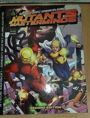 Mutants and Masterminds Roleplaying rules + GM Screen