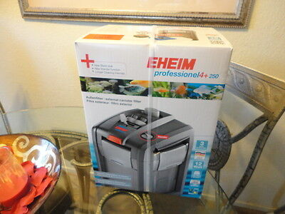 Eheim Pro 4+ 250 2271 Canister Filter 250GPH - Up To 65 Gallons,Aquarium,Fish