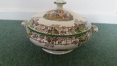 Vintage Copeland Spode Byron with lidded  tureen