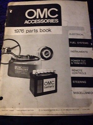 Omc Accessories 1976 Parts Book