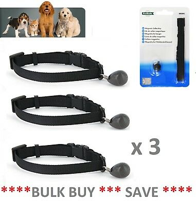 3 x Staywell Petsafe 480 Magnetic Collar Key Collar for 400, 932 Catflap Door