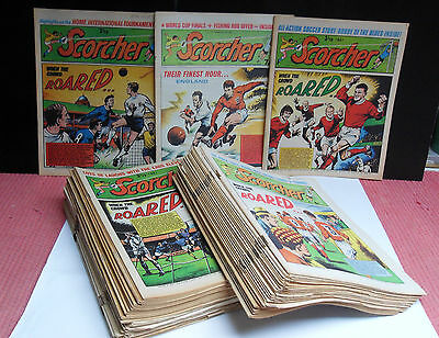 Scorcher Comic, 62 Editions, Rare
