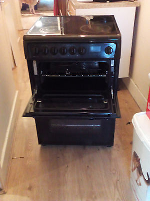 Electric Double Oven And Hob - Hotpoint Hae60