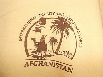 Military ISAF T-Shirt Afghanistan Herrick NATO Tour (Army Air Force Navy marines