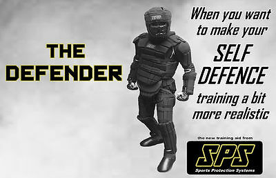 SPS The Defender Martial Arts Kapap Self Defence Full Body Armour MMA Training